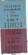 La Colmiane Ski Forfait Téléski Ticket Montée Téléskis - Europa