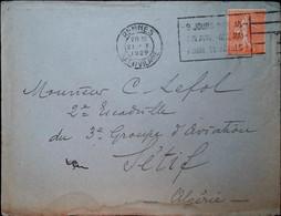 G 2 1929/30  Courrier France /tunisie Groupe Aviation - Bolli Militari A Partire Dal 1940 (fuori Dal Periodo Di Guerra)