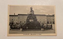 AGAZZANO -  MONUMENTO AI CADUTI - Piacenza