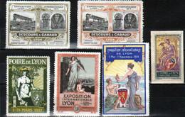 6 Vignettes, Exposition Lyon, 1914, 1917, - Andere