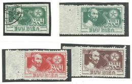 HO-CHI-MINH N°63 Obl. +65A +65B Et 67 - Vietnam