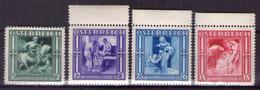 Österreich 1936 Mi.-Nr. 628 - 631 Postfrisch ** Kpl. Satz (A25-084) - Nuevos