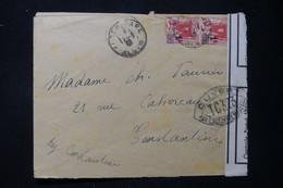 ALGÉRIE - Enveloppe De Alger Pour Constantine En 1940 Avec Contrôle Postal TC 323  - L 90154 - Briefe U. Dokumente