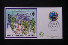 FRANCE - Enveloppe FDC En 1998 - Bloc CNEP  - Coupe Du Monde De Football - L 90158 - 1990-1999