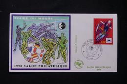 FRANCE - Enveloppe FDC En 1998 - Bloc CNEP  - Coupe Du Monde De Football - L 90159 - 1990-1999
