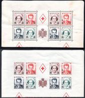94.MONACO,1951 RED CROSS Y.T. 379A-382A&379B-382B X 2,MNH.VERY LIGHT RUST - Ohne Zuordnung