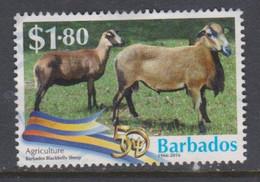 BARBADOS, USED STAMP, OBLITERÉ, SELLO USADO. - Barbades (1966-...)