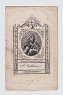 H.PRENTJE ST. CATHERINE  / PASTOOR LOVENDEGEM EN ZELE  - LIVINUS VAN BELLE - MARIAKERKE 1771 ZELE 1838 - - Obituary Notices