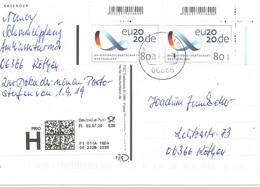 O-Prio-PK Von Köthen Vom 2.7.20 Mi.3554+EAN - Cartas