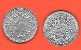 Cambogia 50 Sen 1959 Cambodia Aluminum Coin - Cambodia