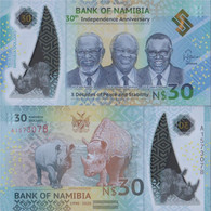 Namibia - Southwest Pick-number: New Uncirculated 2020 30 Namibia Dollars - Namibia