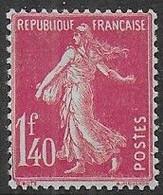 Semeuse N° 196 * - Cote : 25 € - 1906-38 Sower - Cameo