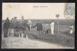 CPA 54 - Chambley, La Frontière - Chambley Bussieres