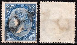 SPAIN 1867 Isabella II In Oval, Mi. 81, 4Cs, Used - Gebraucht