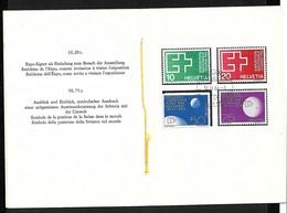 Suisse Carnet  N°717 à  720 Exposition Lausanne FDC Premier Jour Le 30/04/1964 B/ TB  Voir Scans Soldé  ! ! ! - Briefe U. Dokumente