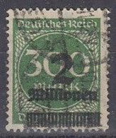 DR 310 A, Gestempelt, Geprüft - Infla