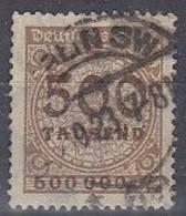 DR 313 A P, Gestempelt, Geprüft - Infla