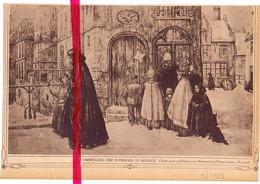 Orig. Knipsel Coupure Tijdschrift Magazine - Brugge - De Ommegang Der Koningen - 1925 - Zonder Classificatie