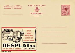 PUBLIBEL # 2029 . DESPLAT S.a Révision Moteurs , Injection . LODELINSART - Werbepostkarten