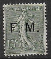 F.M.  N° 3 ** -  Cote : 210 € - Franchigia Militare (francobolli)