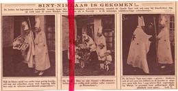 Orig. Knipsel Coupure Tijdschrift Magazine - Kortrijk - Sinterklaas Op Bezoek  - 1924 - Non Classificati