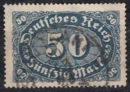 DR 246 A, Gestempelt, Geprüft, Queroffset 1922 - Infla