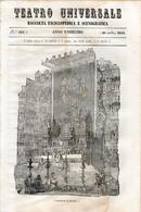 B 3913 - Teatro Universale 1844 - Non Classificati