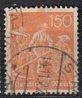 DR 189, Postfrisch **, Geprüft, Arbeiter 1921 - Infla