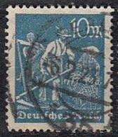 DR 239, Gestempelt, Geprüft, Arbeiter 1922 - Infla