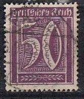 DR 183 A, Gestempelt, Geprüft, Ziffer 1921 - Infla