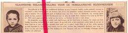 Orig. Knipsel Coupure Tijdschrift Magazine - Schelle - Hongaarse Kinderen - 1925 - Unclassified