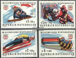 Austria 1479-1482 (complete Issue) Unmounted Mint / Never Hinged 1975 Olympia - 1971-80 Nuevos & Fijasellos