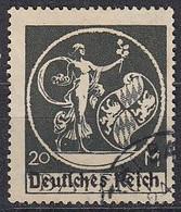 DR 138 I, Gestempelt, Geprüft, Bayern-Aufdruck 1920 - Infla