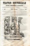 B 3914 - Teatro Universale 1844 - Non Classificati