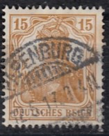 DR 100 A Gestempelt, Geprüft, Germania 1916 - Infla
