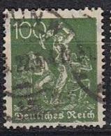 DR 187 A, Postfrisch **, Geprüft, Arbeiter 1921 - Infla