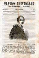 B 3915 - Teatro Universale 1844 - Non Classificati