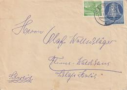 Allemagne Lettre Berlin 1954 - Cartas