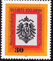 BRD FGR RFA - Marken Des Ausgabedatums 18.1-18.2. (MiNr: 658/68) 1971 - Postfrisch MNH - Nuevos