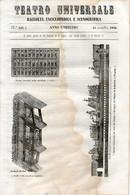 B 3917 - Teatro Universale 1844 - Non Classificati