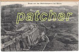 Günne (Soest) Möhnetalsperre Im Bau, Um 1910 - Soest