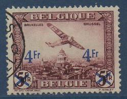BEL  Avion Survolant Bruxelles N°COB PA7 - Aéreo