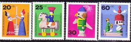 BRD FGR RFA - Altes Holzspielzeug (MiNr: 705/8) 1971 - Postfrisch MNH - Nuevos