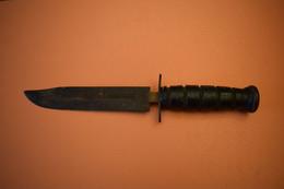 POIGNARD CAMILLUS US MK2 COMMERCIAL À RESTAURER, SANS FOURREAU - Knives/Swords