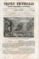 B 3921 - Teatro Universale 1844 - Non Classificati