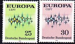 BRD FGR RFA - Europa (MiNr: 716/7) 1972 - Postfrisch MNH - Nuevos