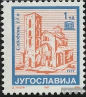 Yugoslavia 2673II C Unmounted Mint / Never Hinged 1994 Clear Brands: Monastery - Nuovi