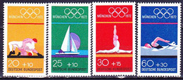 BRD FGR RFA - Olympiade München (MiNr: 719/22) 1972 - Postfrisch MNH - Nuevos