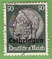 MiNr.13 O Deutschland Besetzte Gebiete II.WK Lothringen - Ocupación 1938 – 45