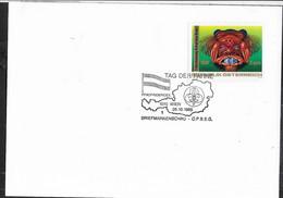 "AUSTRIA - SCOUTISMO -  ANNULLO SPECIALE "" TAG DER FAHNE - WIEN - 26.10.1985- "" - 1981-90 Cartas"